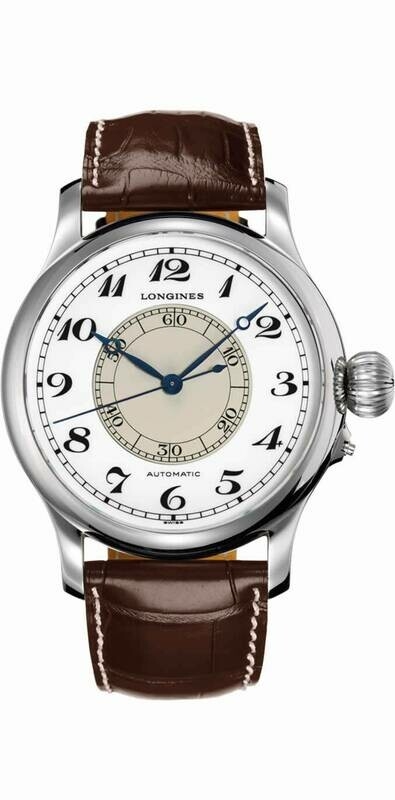 Longines Weems 47mm Steel Automatic