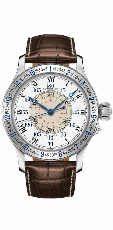 Longines Lindbergh Hour Angle Watch 47mm Automatic