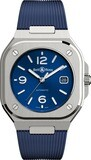 Bell & Ross BR 05 Blue on Rubber Strap