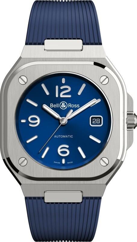 Bell & Ross BR 05 Blue on Rubber Strap