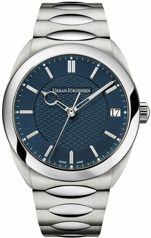 Urban Jürgensen One Date Blue Dial on Bracelet