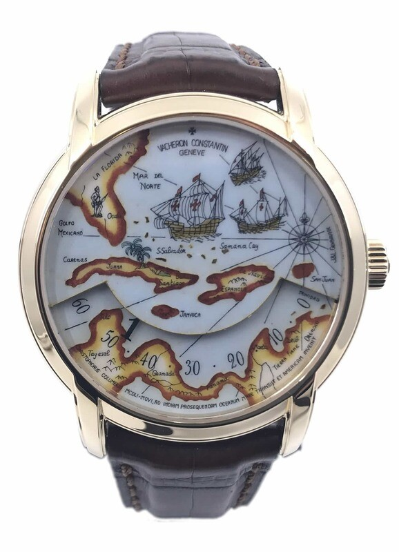 Very Rare Vacheron Constantin Great Explorers Christopher Columbus Expedition 47070/000J-9085