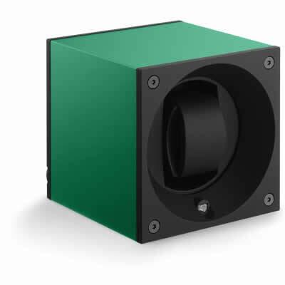 SwissKubik Watch Winder Single Anodized Green