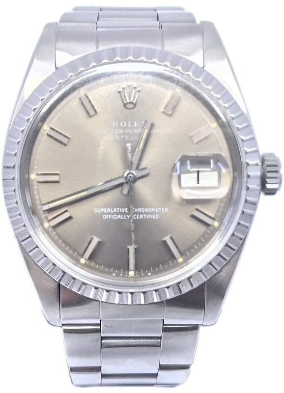 Rolex Datejust 1603 Wide Boy 1978