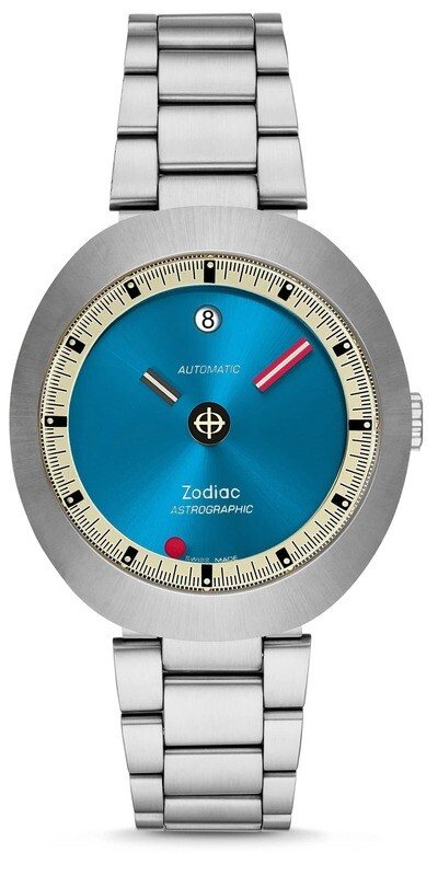Zodiac Astrographic Automatic Stainless Steel Limited Edition