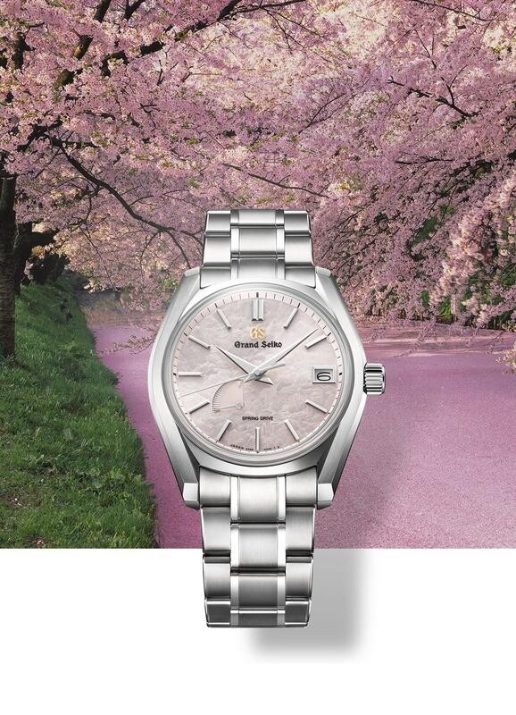 Grand Seiko Four Seasons Spring SBGA413 Pink Dial