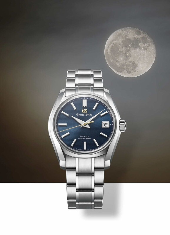 Grand Seiko Four Seasons Fall SBGH273 Blue Dial