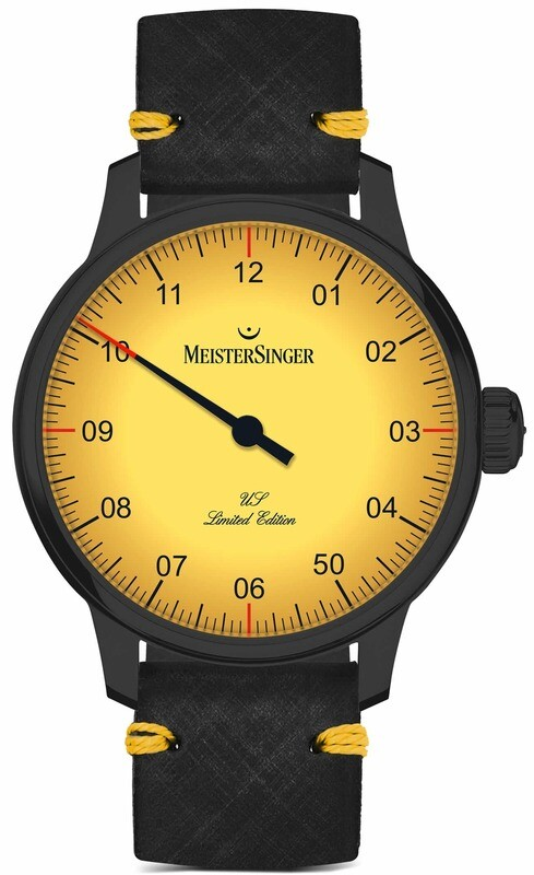 MeisterSinger Yellow USA Limited Edition