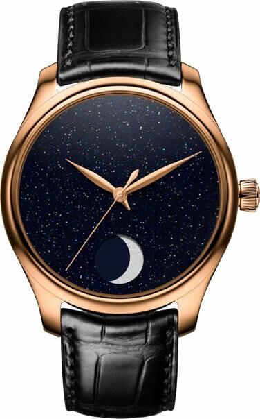 H. Moser & Cie. Endeavour Perpetual Moon Concept Aventurine