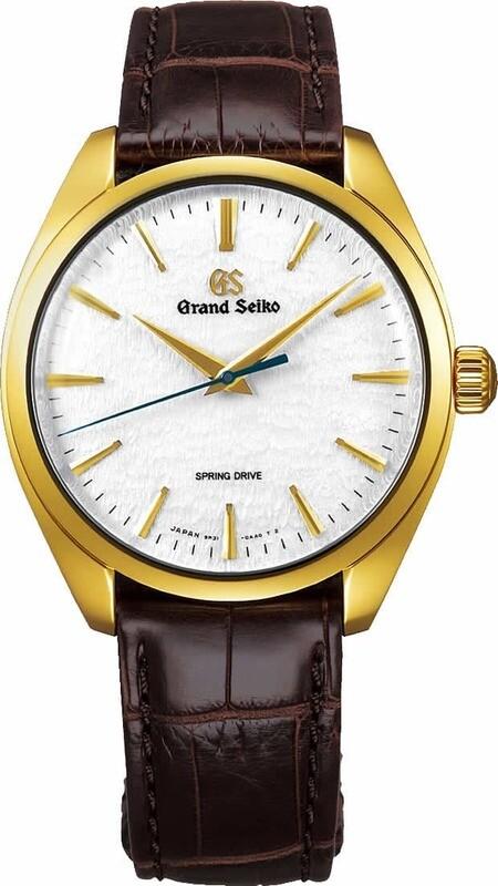 Grand Seiko Elegance SBGY002 Snowflake Yellow Gold