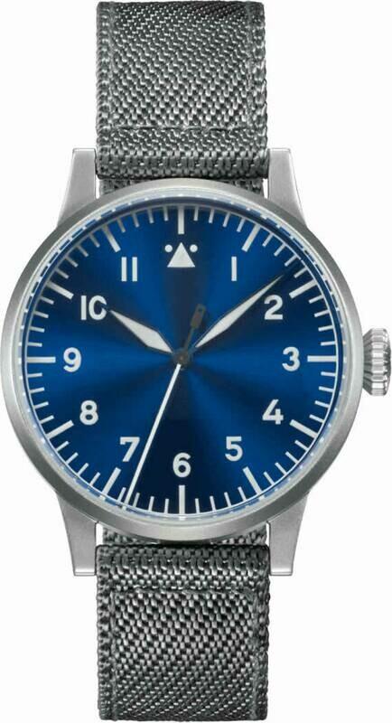 Laco Pilot Watch Memmingen Blaue Stunde