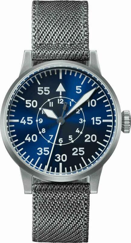 Laco Pilot Watch Original Leipzig Blaue Stunde