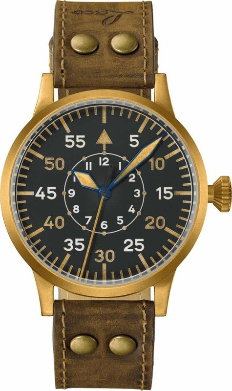 Laco Pilot Watch Dortmund Bronze