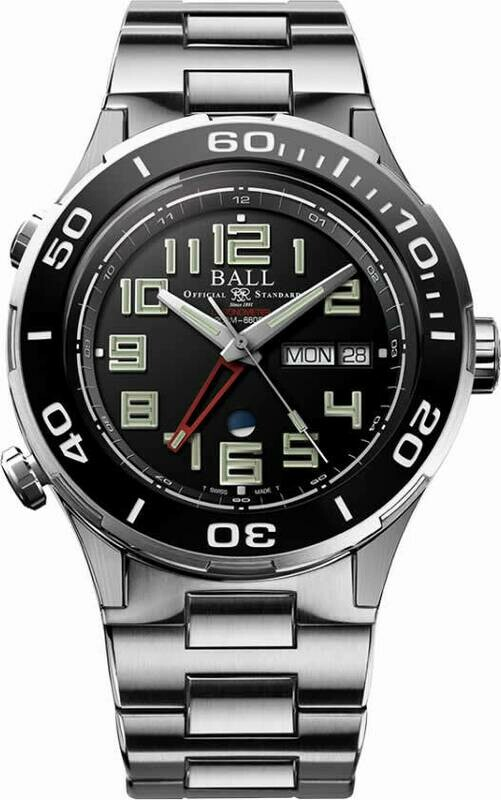 Ball Roadmaster Vanguard DG3036B-S1C-BK