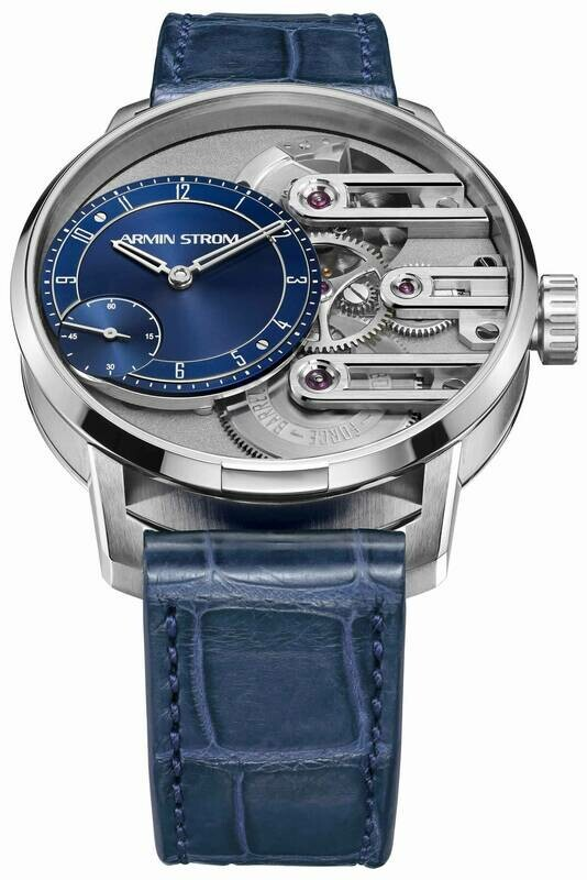 Armin Strom Gravity Equal Force Blue Dial