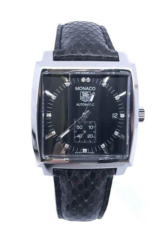 Tag Heuer Monaco Diamond Markers WW2117.FC6216