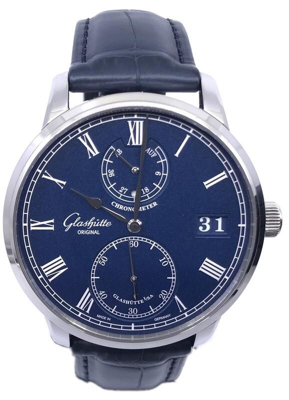 Glashütte Original Senator Chronometer Blue Dial 1-58-01-05-34-30