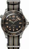 Omega Seamaster Diver 300m 007 James Bond Edition on NATO Strap