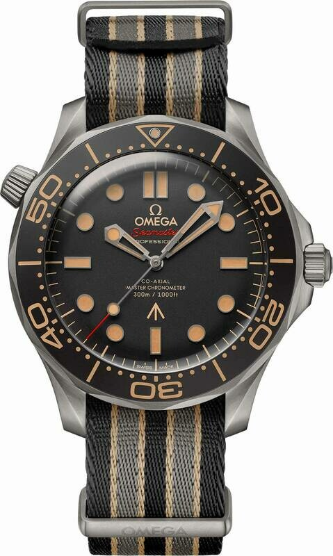 Omega Seamaster Diver 300 007 Edition on NATO Strap
