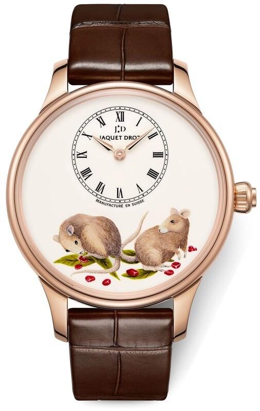 Jaquet Droz Petite Heure Minute Rat J005013230
