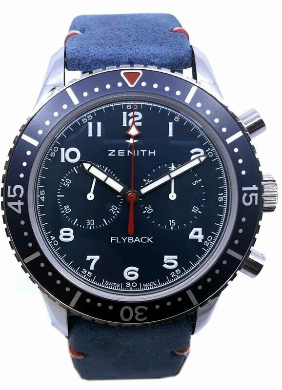Zenith Pilot Type CP-2 Flyback Tribute to Wounded Warrior Project