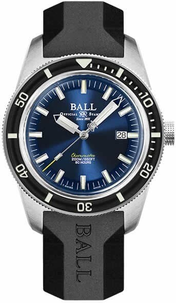 Ball Engineer II M Skindiver Heritage on Strap
