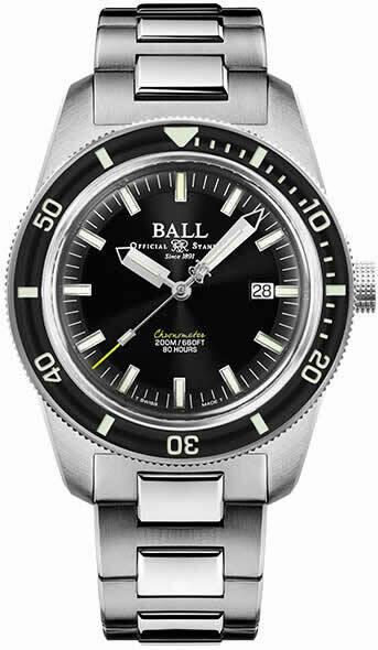 Ball Engineer II M Skindiver Heritage Black Dial