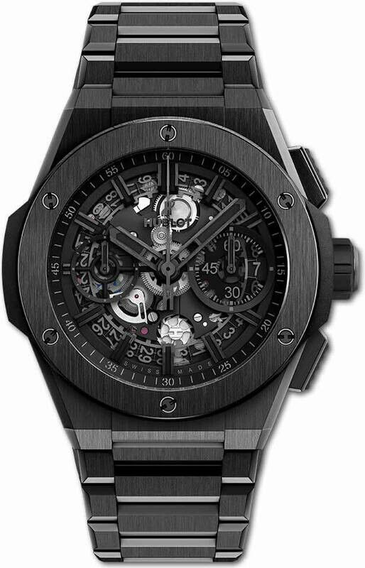 Hublot Big Bang Ceramic Integral Bracelet All Black 42mm 451.CX.1140.CX