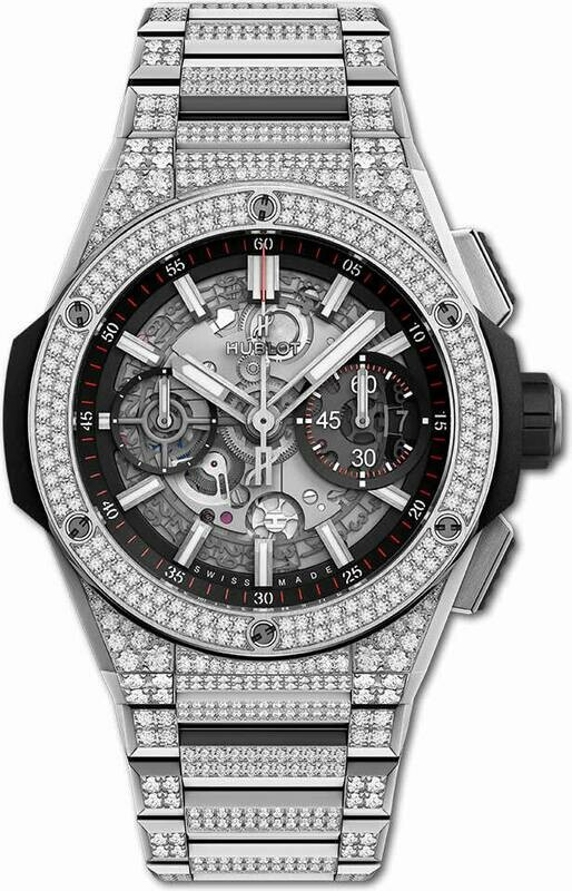 Hublot Big Bang Titanium Pavé Diamonds Integral Bracelet 42mm