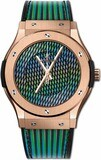 Hublot Classic Fusion Cruz Diez King Gold 45mm