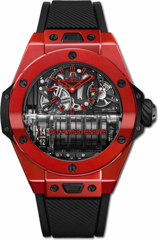 Hublot Big Bang MP-11 Power Reserve 14 Days Red Ceramic