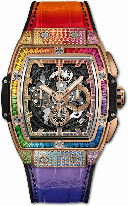 Hublot Spirit of Big Bang King Gold Rainbow