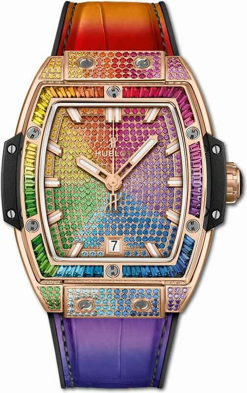 Hublot Spirit of Big Bang King Gold Rainbow 665.OX.9910.LR.0999