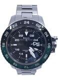 Ball Engineer Hydrocarbon AeroGMT II Black Dial Green Bezel
