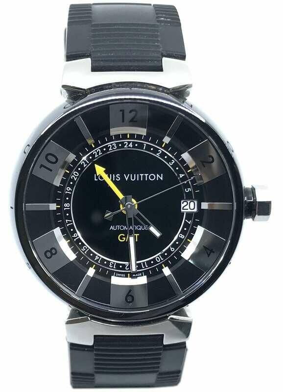 Louis Vuitton Q113K Tambour GMT