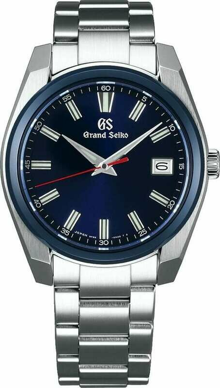 Grand Seiko SBGP015 Blue Dial Limited Edition