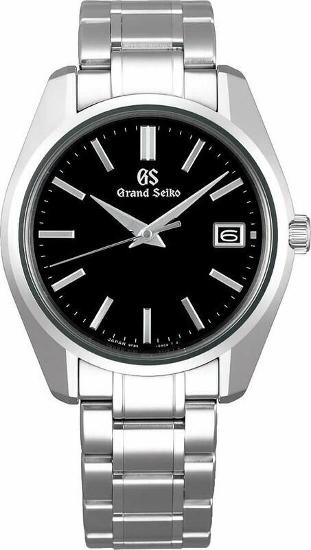 Grand Seiko SBGP003 Black Dial