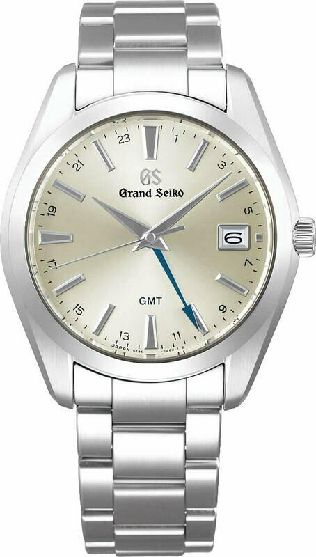 Grand Seiko SBGN011 GMT Champagne Dial