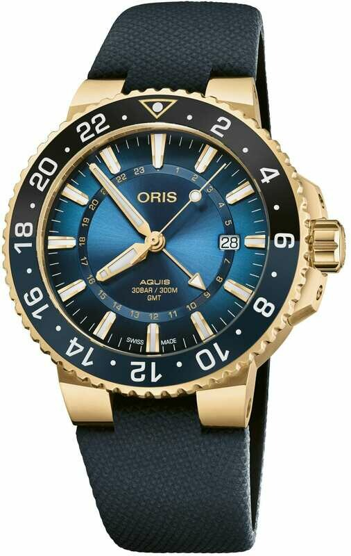 Oris Carysfort Reef Gold Limited Edition