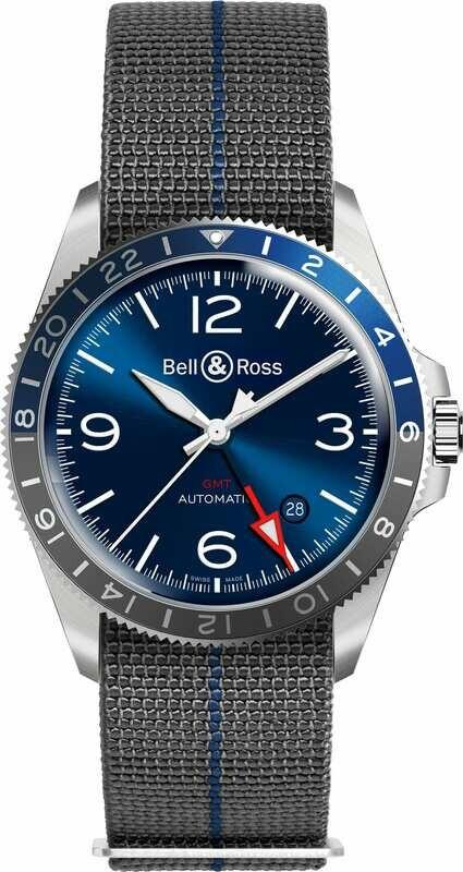 Bell & Ross BR V2-93 GMT Blue