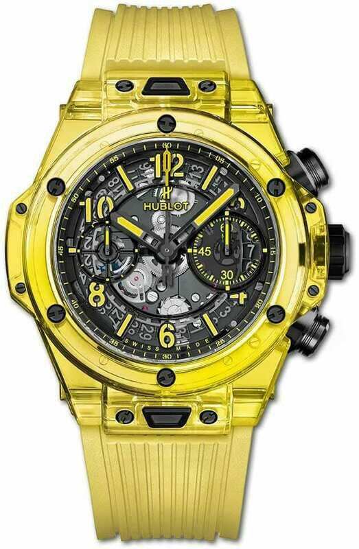 Hublot Big Bang Unico Yellow Sapphire 42mm