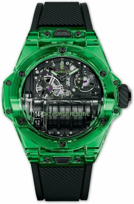 Hublot Big Bang MP-11 Power Reserve 14 Days Green Saxem