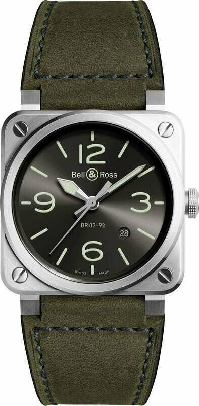 Bell & Ross BR 03-92 Grey Lum BR0392-GC3-ST/SCA
