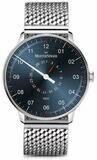 MeisterSinger Neo Plus Pointer Date Sunburst Steel Blue