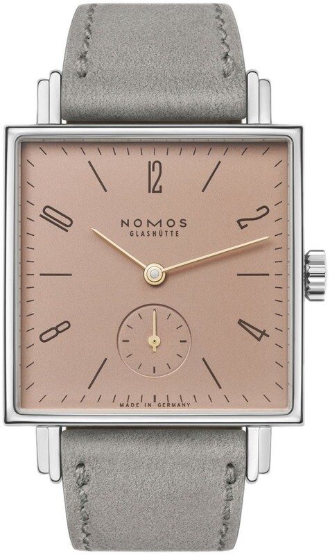 NOMOS Glashütte Tetra Divine Spark Exhibition Back