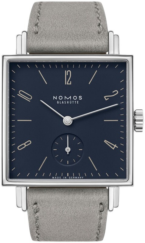 NOMOS Glashütte Tetra Fidelio Exhibition Back