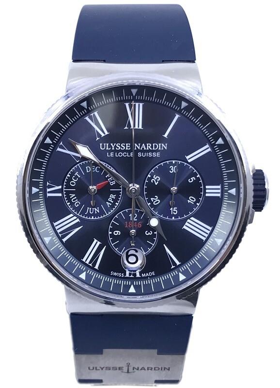 Ulysse Nardin Marine Annual Calendar Chronograph 1533-150-3/43