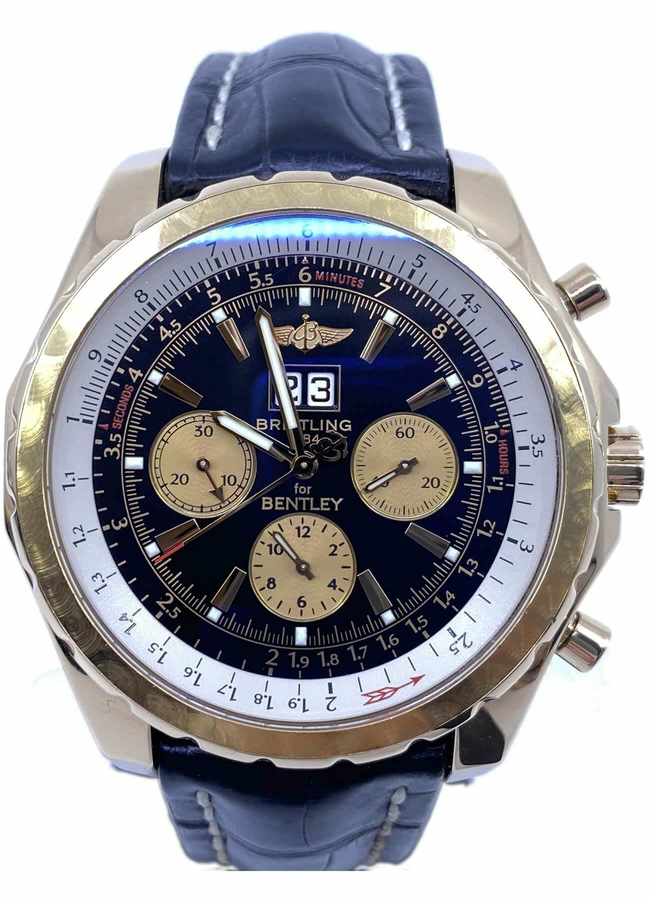 Breitling Bentley 6 75 18k Gold H44363 Exquisite Timepieces