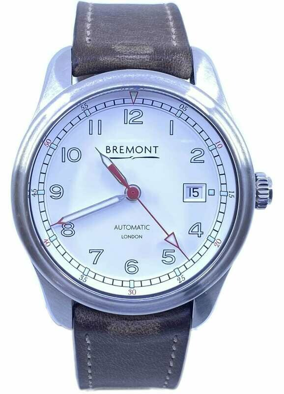 Bremont AIRCO MACH 1/WH White Dial