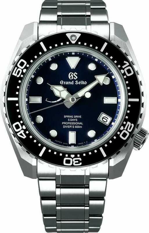 Grand Seiko Sport SLGA001 Diver Spring Drive Blue Dial